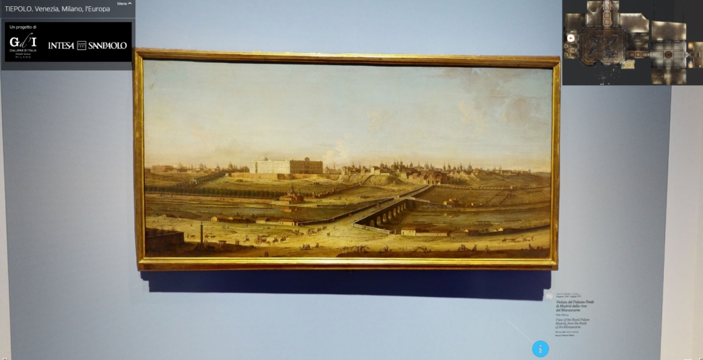 Palazzo Reale Madrid Tiepolo