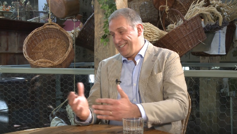 Andrea Lazzari presenta el Restaurante SottoSopra Madrid