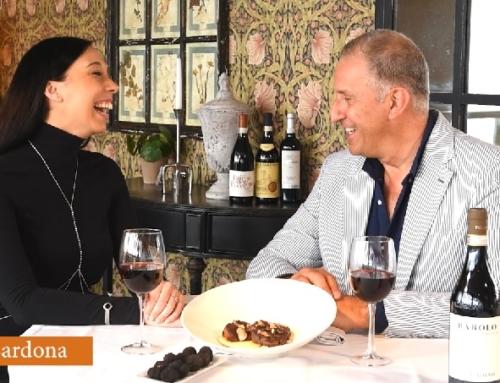 Saboreando Italia – Piamonte de la mano de Luisa Cardona, hablando de Trufa y vino Nebbiolo.
