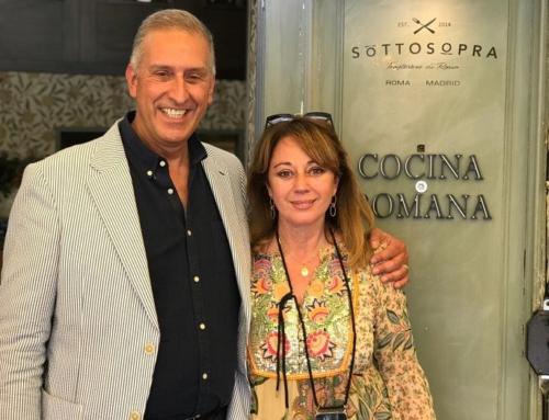 En Grandes el anuncio que SottoSopra llega a Nueva York con Daniele Mancini. La Grande de esta puntada es Alejandra Torray.
