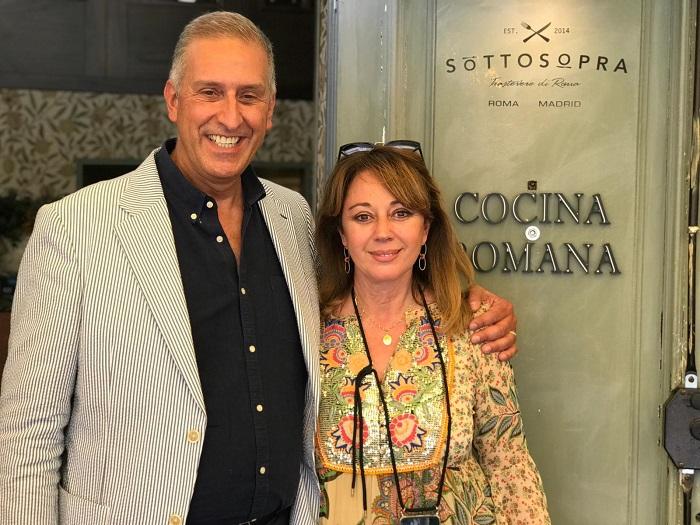 en Grandes con Andrea Lazzari