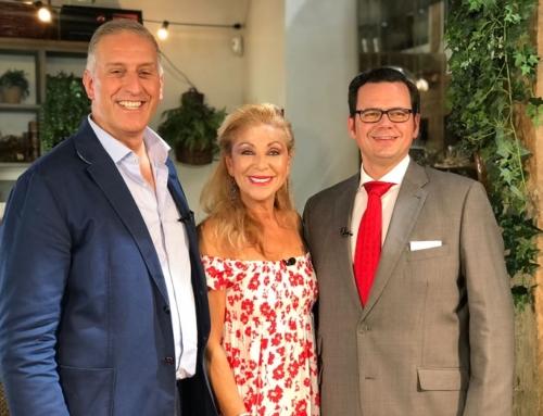 En Grandes hoy Óscar Méndez y Angeles Martin entrevistados por Jenny Llada y Andrea Lazzari