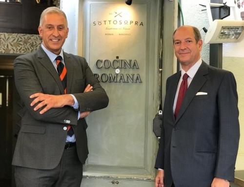 El Embajador de Italia en España en Grandes. Andrea Lazzari y Jenny Llada entrevistan a Riccardo Guariglia y Luis Fernando Alvés