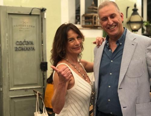Mauro Bafile y María Consuelo Casal Mínguez en Grandes, al SottoSopra Madrid.